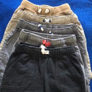 5 pair of shorts